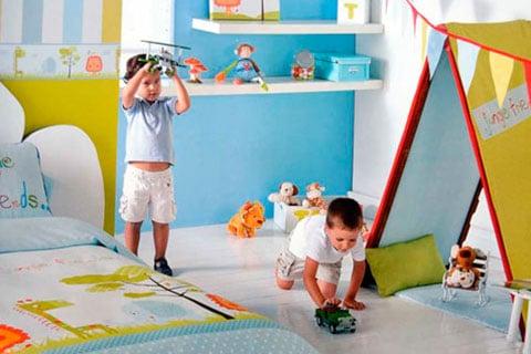 Decoración de dormitorio de niños