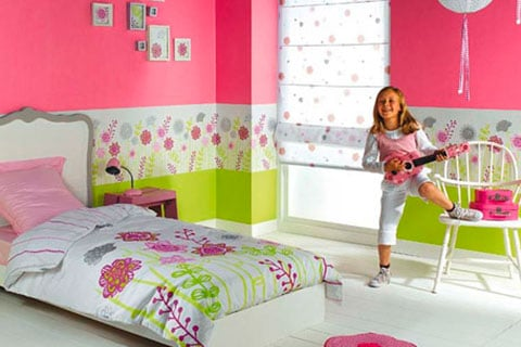Decoración de dormitorio de niñas